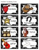 Western Word Wall Alphabet Headings and Vocabulary Cards