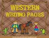 Western Writing Packet