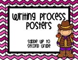 {Western} Writing Process Posters Freebie