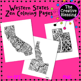 Western Zen State Coloring Pages