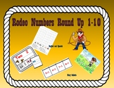 Dual Language English/Spanish Rodeo 1-10 Number Recognition Games