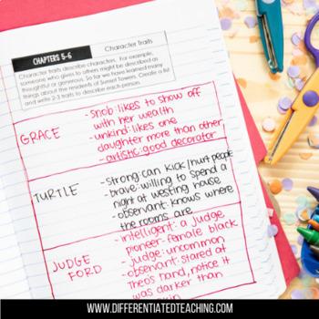 Westing Game Foldable Novel Study Unit