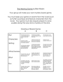 Westing Game Activities