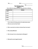 Westing Game Ch 1-8 Worksheets/Activities