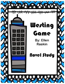 Westing Game Novel Study