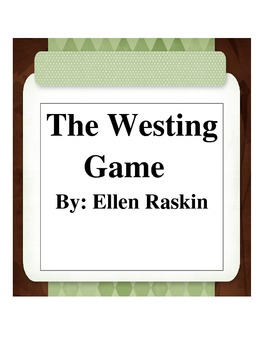 Westing Game Novel Test