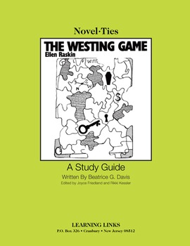 Westing Game - Novel-Ties Study Guide