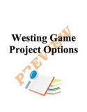 Westing Game Project Options