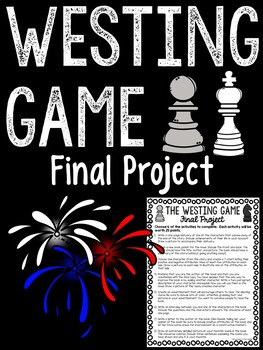 Westing Game Project with student choices