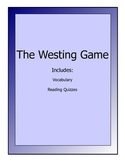 Westing Game novel lesson packet - reading quizzes and vocabulary