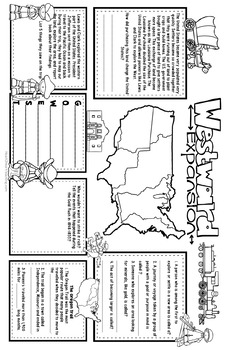 Westward Expansion Activities: These BIG-MATS® are FUN in a BIG Way!