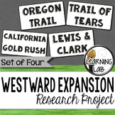 Westward Expansion Guided Research Project