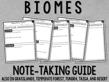 Biomes Research Project