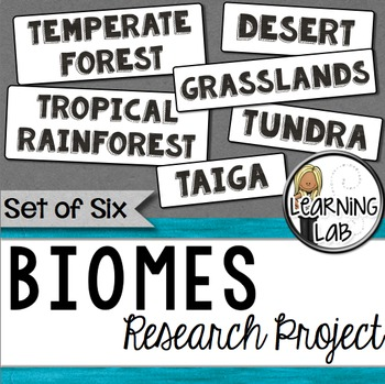 Biomes Guided Research Project