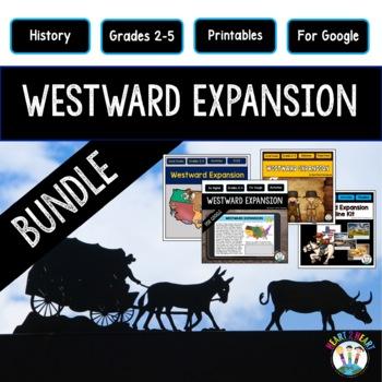 Westward Expansion BUNDLE: Lewis & Clark, Oregon Trail, Louisana Purchase
