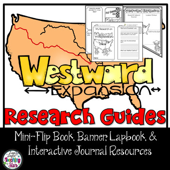 Westward Expansion Research Flip Book and Banners
