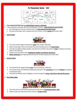 Westward Expansion Study Guide - 5th Grade Social Studies