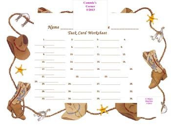 Westward Expansion 5th Grade Social Studies Task Cards