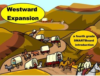 Westward Expansion - A Fourth Grade SMARTBoard Introduction