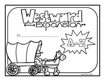 Westward Expansion A-Z Book