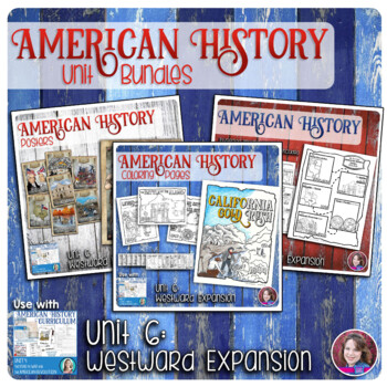 Westward Expansion Activities Bundle