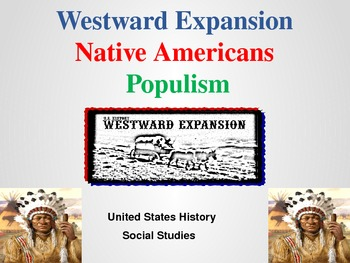 Westward Expansion Activities and Lessons - U.S. History