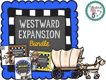 Westward Expansion Activity BUNDLE