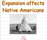 Westward Expansion - Affects on Native Americans