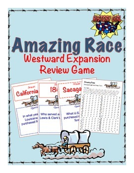 Westward Expansion Amazing Race Review Game