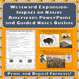 Westward Expansion - American Indians PowerPoint with Guid