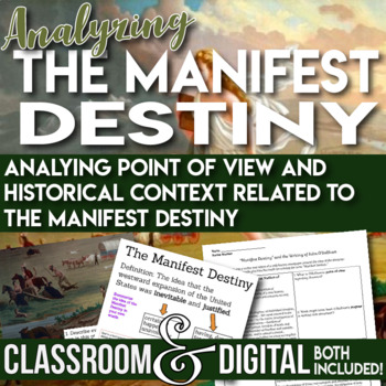 Westward Expansion Analyzing Point of View and the Manifest Destiny