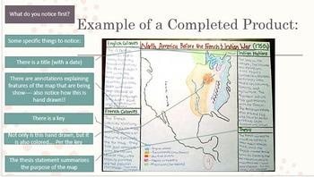 Westward Expansion Annotated Map Webquest