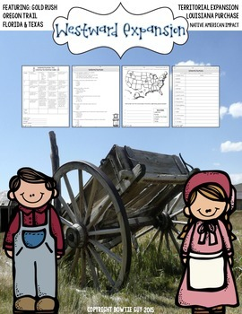 Westward Expansion Assessment Pack {GA Milestone Constructed Response Included}