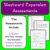 Westward Expansion Assessments