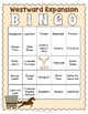 Westward Expansion Bingo Game