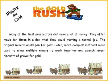 Westward Expansion - California Gold Rush