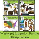 Westward Expansion Clip Art Bundle