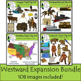 Westward Expansion Clip Art Bundle