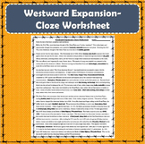 Westward Expansion Cloze Worksheet