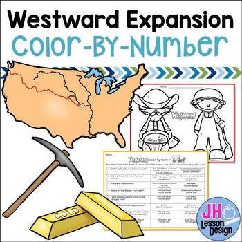 Westward Expansion Color-By-Number