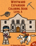 Westward Expansion Coloring Book-Level A