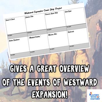 Westward Expansion Comic Strip Project