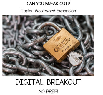 Westward Expansion Digital Breakout