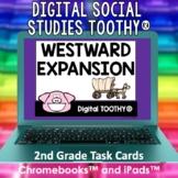 Westward Expansion Digital Social Studies Toothy® Task Car