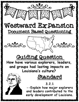 Westward Expansion Document Based Questioning (DBQ)