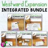 Westward Expansion & ELA Integrated Bundle: Reading Writing & Social Studies