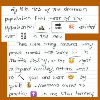 Westward Expansion Emoji Summary