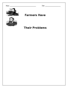 Westward Expansion: Farmers have their problems reading and questions