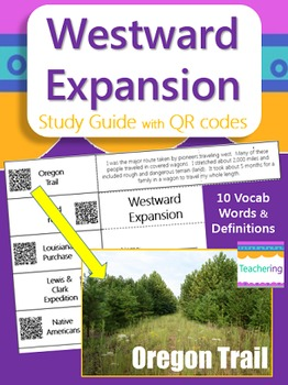 Westward Expansion Study Guide {with QR Codes}