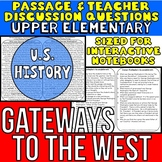 Westward Expansion: Gateways to the West